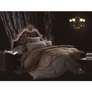 Egyptian Cotton Tribal Queen 7-piece Duvet Cover Set