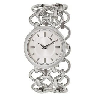 Balmain Women's 'Balmain Chain' Stainless Steel Swiss Quartz Watch