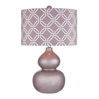 Dimond Ivybridge Ceramic Lilac Luster Table Lamp
