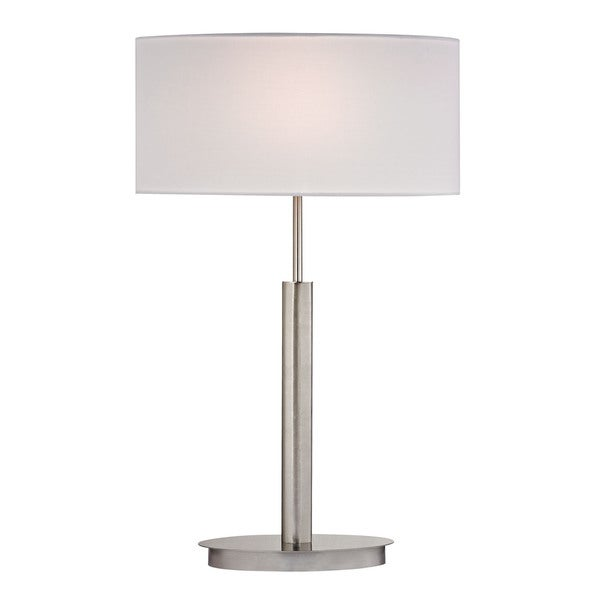 Dimond Port Elizabeth Satin Nickel Table Lamp