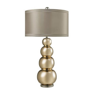 Dimond Stacked Gourd Gold Mercury Table Lamp