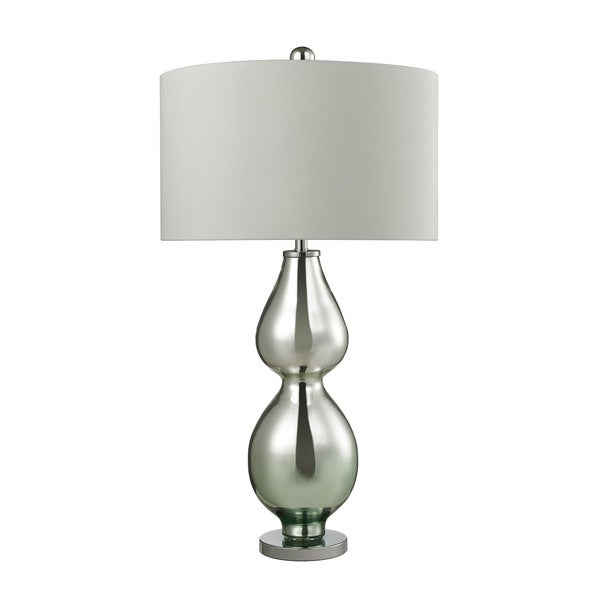 Dimond Double Gourd Light Green Mercury Table Lamp
