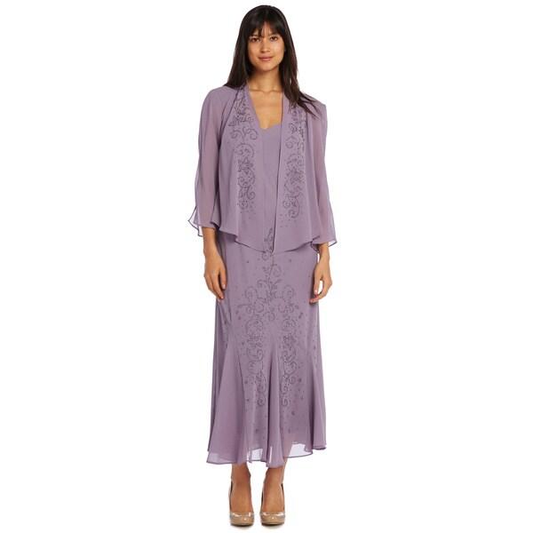 Shop R&M Richards Chunky Bead Jacket Dress