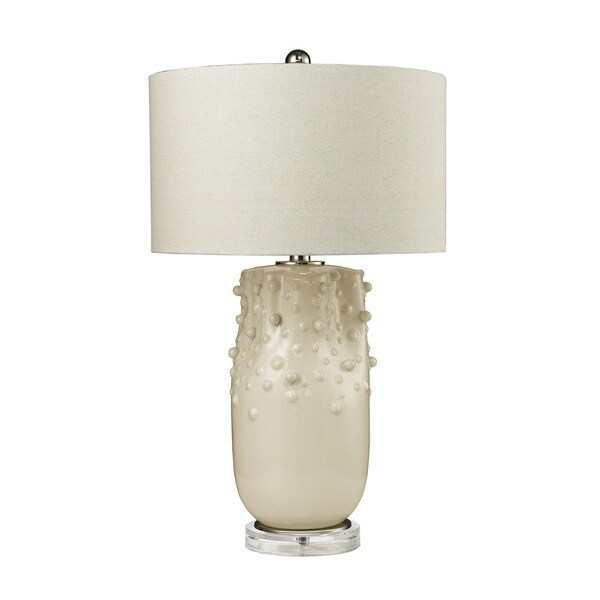 Dimond Modern Organics Ivory Glaze Table Lamp