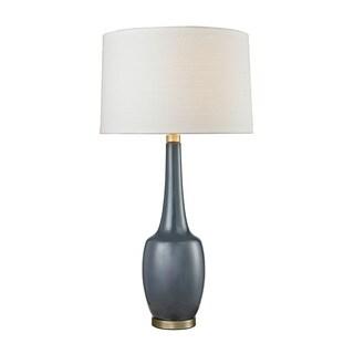 Dimond Modern Vase Ceramic Navy Blue Table Lamp