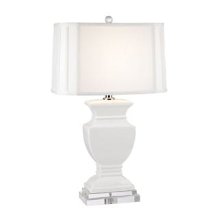 Dimond Ceramic Gloss White Table Lamp