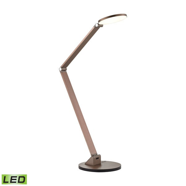 Dimond Silver Mono Disc Elbow Lamp
