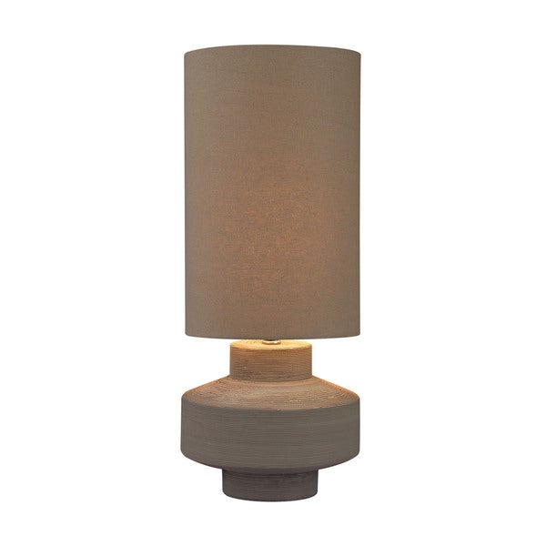 Dimond Geometric Brutalist Lamp