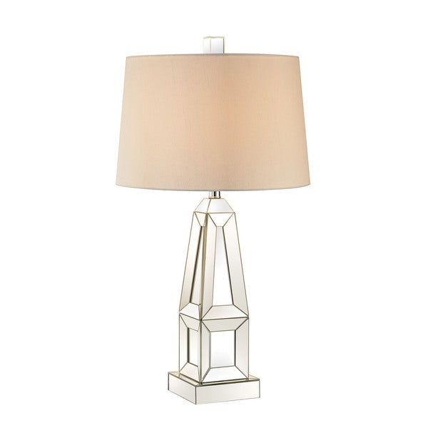 Crystal Block Table Lamp Dimond Modern Obelisk Mirror Lamp - Free Shipping Today - Overstock ...