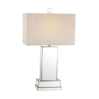 Attractive Dimond Mirror Block Table Lamp