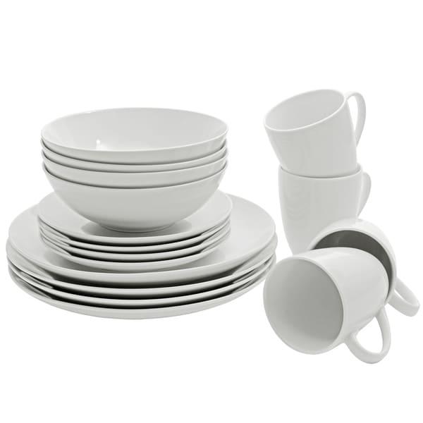 10 Strawberry Street Coupe Dinnerware 16-piece Set