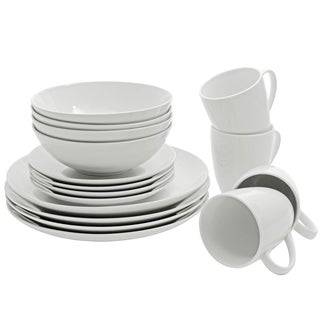 10 Strawberry Street Coupe Dinnerware 16-piece Set
