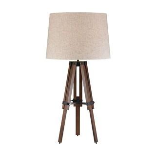 Dimond Wooden Brace Tripod Lamp