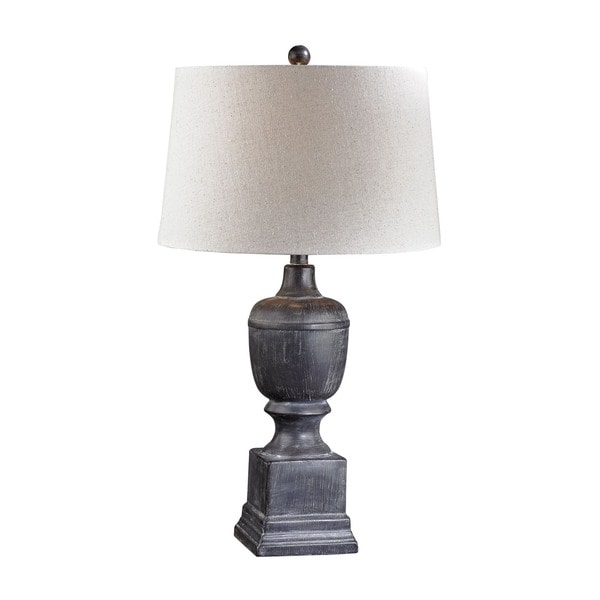 Dimond Black Ash Column Lamp