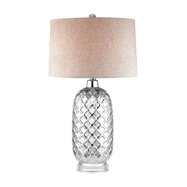 Dimond Chrome Quatrefoil Lamp