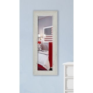 American Made Rayne Antique White Washed Body Mirror