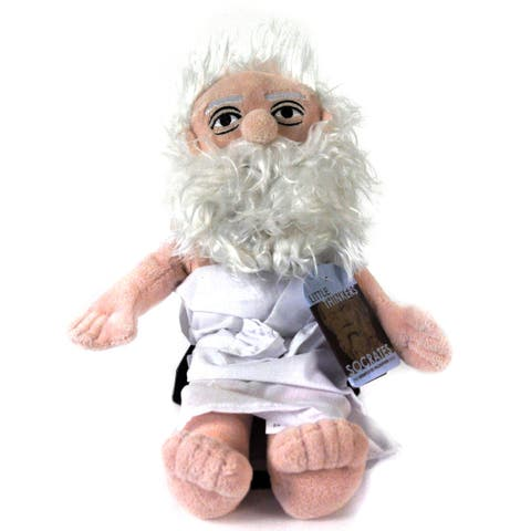 Socrates Little Thinker Plush Doll