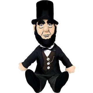 Abraham Lincoln Little Thinker Plush Doll