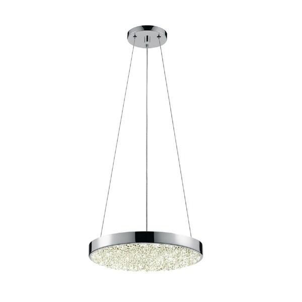 Led Pendant Shop Lights: Shop Sonneman Lighting Dazzle 12 Inch Round LED Pendant
