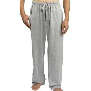 Leisureland Men's Solid Jersey Cotton Knit Pajama Pants|https://ak1.ostkcdn.com/images/products/10318833/P17430219.jpg?impolicy=medium
