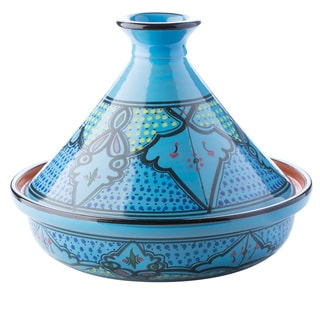 Le Souk Ceramnique Cookable Tagine Sabrine Design Cooking Pot (Tunisia)