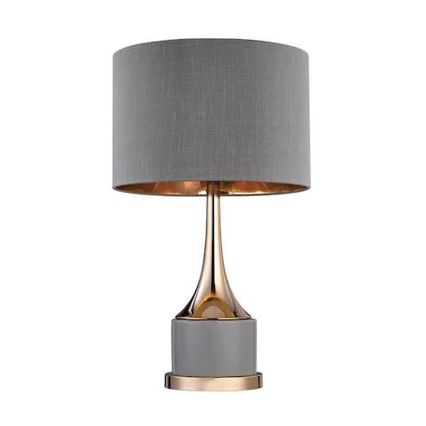 Dimond Small Gold Cone Neck Lamp