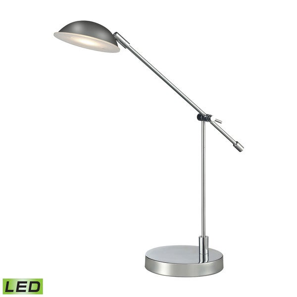 Dimond Alban Adjus LED Polished Chrome Desk Lamp
