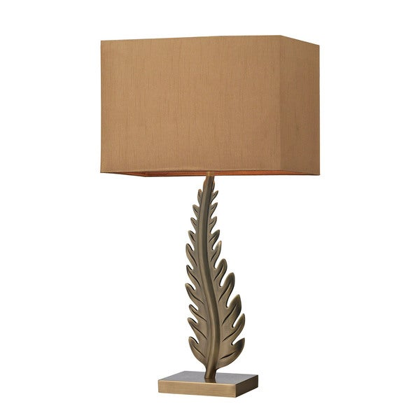 Dimond Oak Cliff Solid Brass Aged Brass Table Lamp