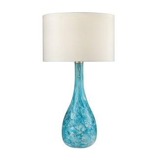 Dimond Mediterranean Blown Glass Seafoam Table Lamp