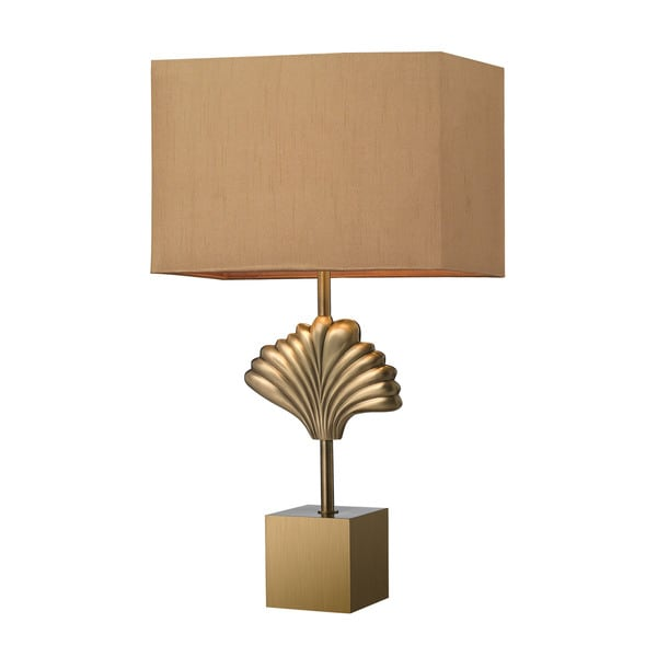 Dimond Vergato Solid Brass Aged Brass Table Lamp