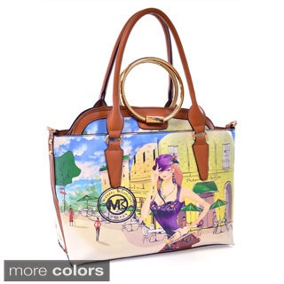 Michael Michelle 'Tosha' 2-in-1 Tote Bag