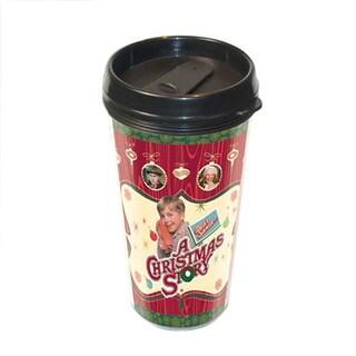 A Christmas Story 16-ounce Plastic Travel Coffee Mug