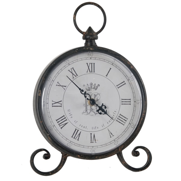 Bronze Elizabeth Table Clock