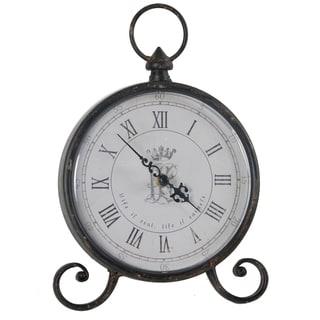 Bronze Elizabeth Table Clock