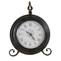 Bronze London Table Clock