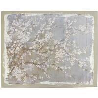 White Cherry Blossoms Wall Art
