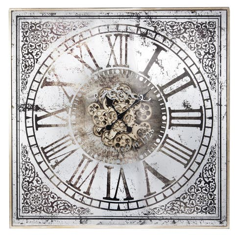 Gracewood Hollow James White Wall Clock