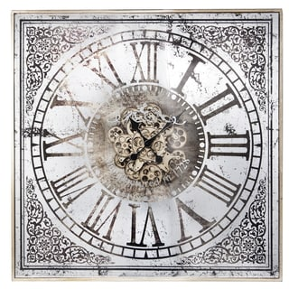White Jilian Wall Clock
