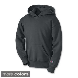Champion Youth Double Dry Action Fleece Pullover Hood|https://ak1.ostkcdn.com/images/products/10319257/P17430575.jpg?impolicy=medium