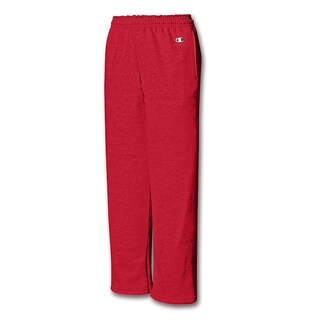 Champion Youth Double Dry Action Fleece Open Bottom Pant