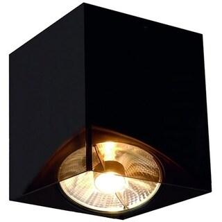SLV Lighting Acrylic Box Single ES111 Ceiling Lamp