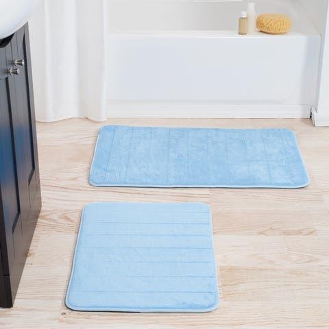 Windsor Home 2-piece Memory Foam Bath Mat Set