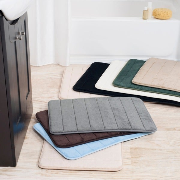 Windsor Home 2-piece Memory Foam Bath Mat Set