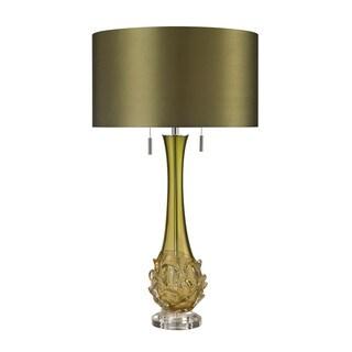 Dimond Vignola Blown Glass Green Table Lamp
