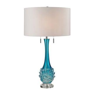 Dimond Vignola Free Blown Glass Blue Table Lamp