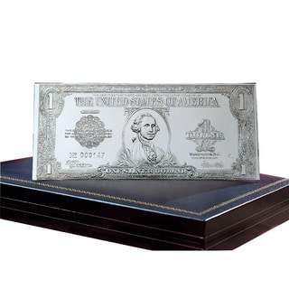American Coin Treasures The First Legal Tender Silver Certificate in .999 Pure Silver