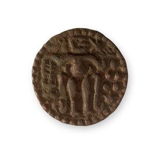 American Coin Treasures Ancient Bronze Chola Coin