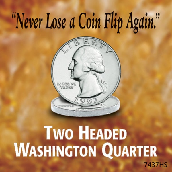 American Coin Treasures Two Headed Washington Quarter