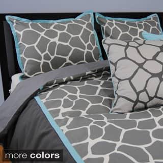 Sweet Jojo Designs Giraffe Neutral Full Queen 3 Piece