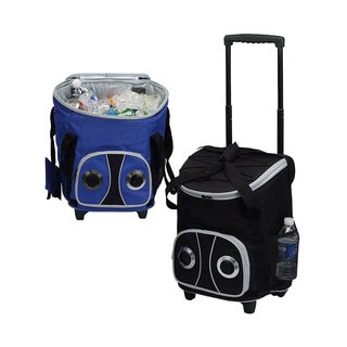 Goodhope 48-can Rolling Speaker Cooler
